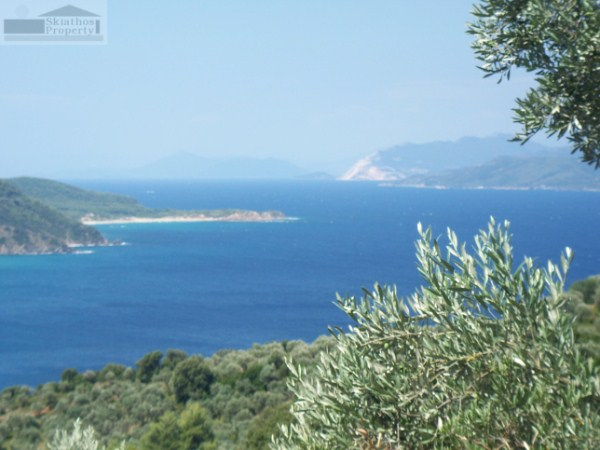 LARGE PLOT IN KECHRIA WITH WONDERFUL SEA VIEWS