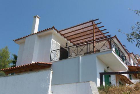 ornet villa from below