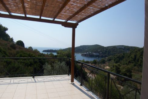 ornet villa view from terrace