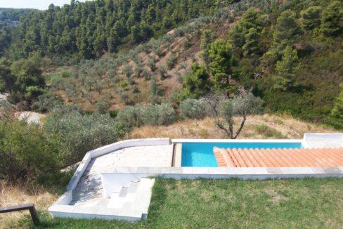 ornet villa view to pool