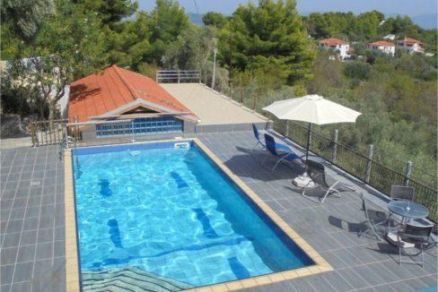 4 pool - terrasse - garage