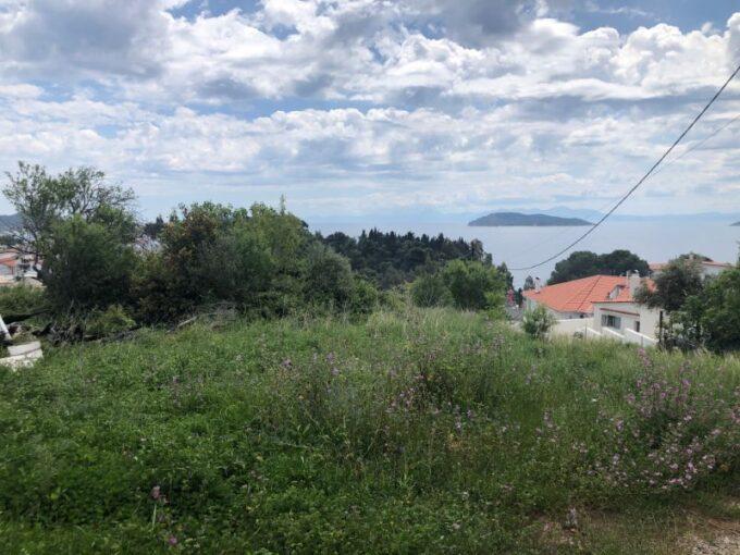 Privileged plots for sale in Skiathos Town